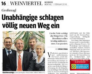 Kurier 10.02.2010