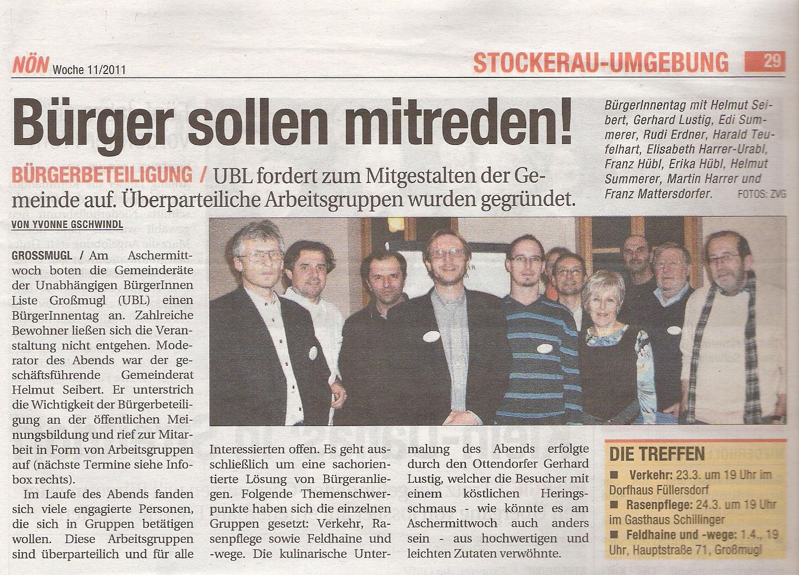 NÖN Korneuburg 11/2011