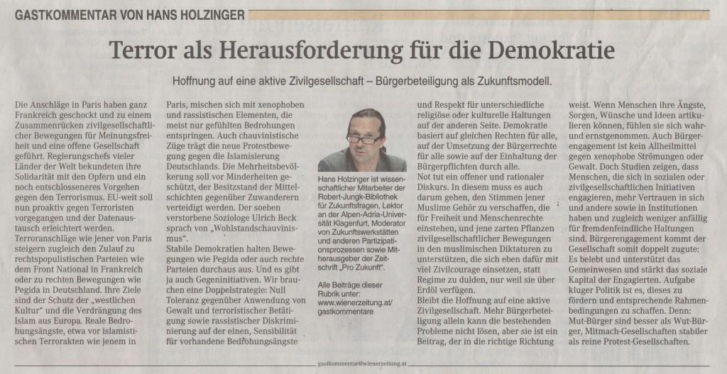 Wienerzeitung_Kommentar_Holzinger_30.1.15