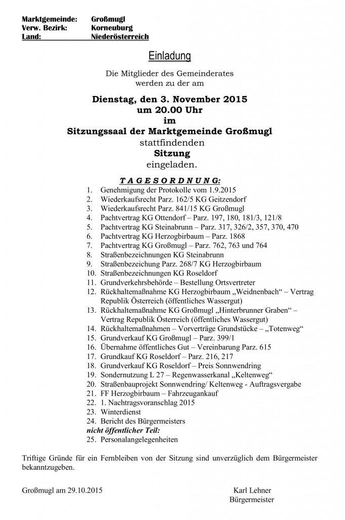 GR-Einladungskurrende 03.11.2015