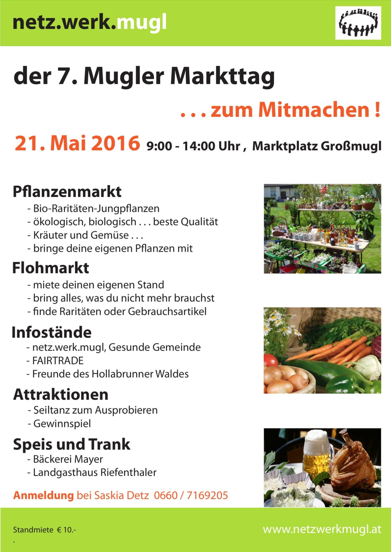 Einladung Markttag