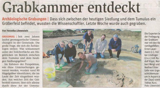 Grabkammer nahe dem Leeberg entdeckt