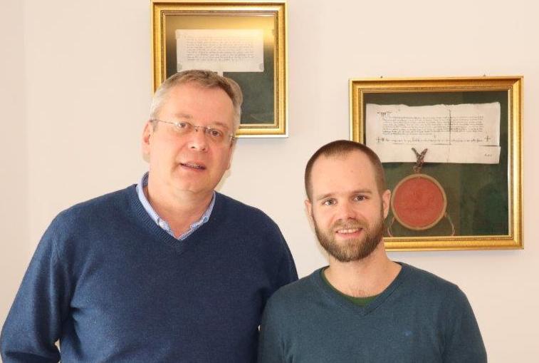 Jürgen Summerer zu Besuch bei Michael Kreuzer in Gutenstein