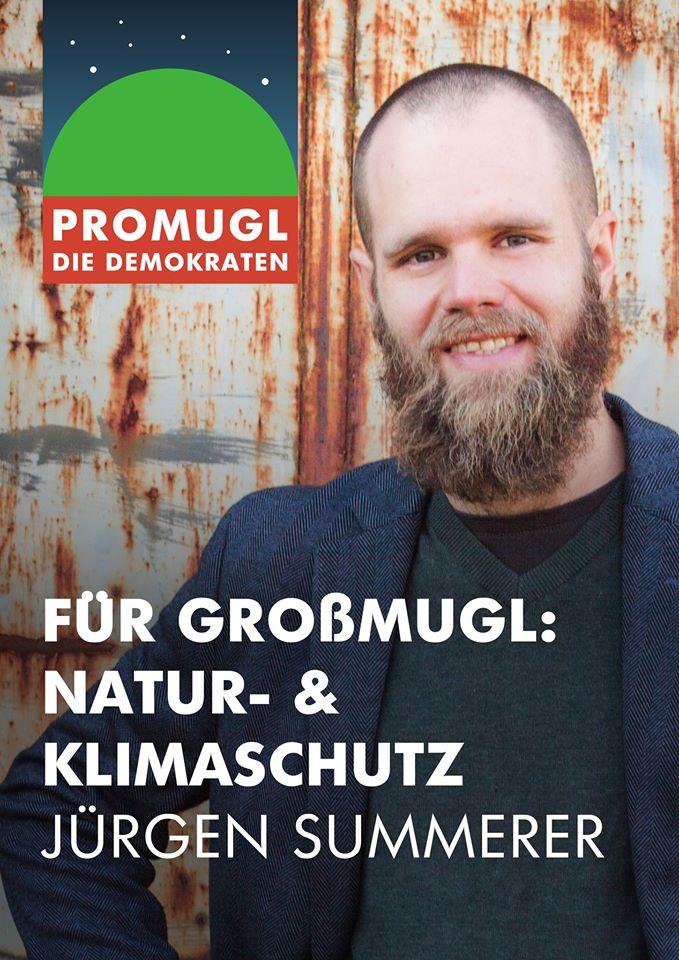 Jürgen Summerer, Spitzenkandidat für proMugl